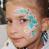 Аквагрим в стиле ЭТНО на детский день рождения, фото 1