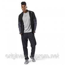 Спортивный мужской костюм Reebok Track Suit CY4926 черно-серый