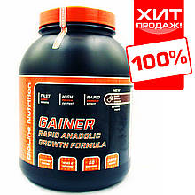 "Купити для набору маси ваги BioLine Nutrition ""Rapid Anabolic смак: чорний шоколад (3 кг)"