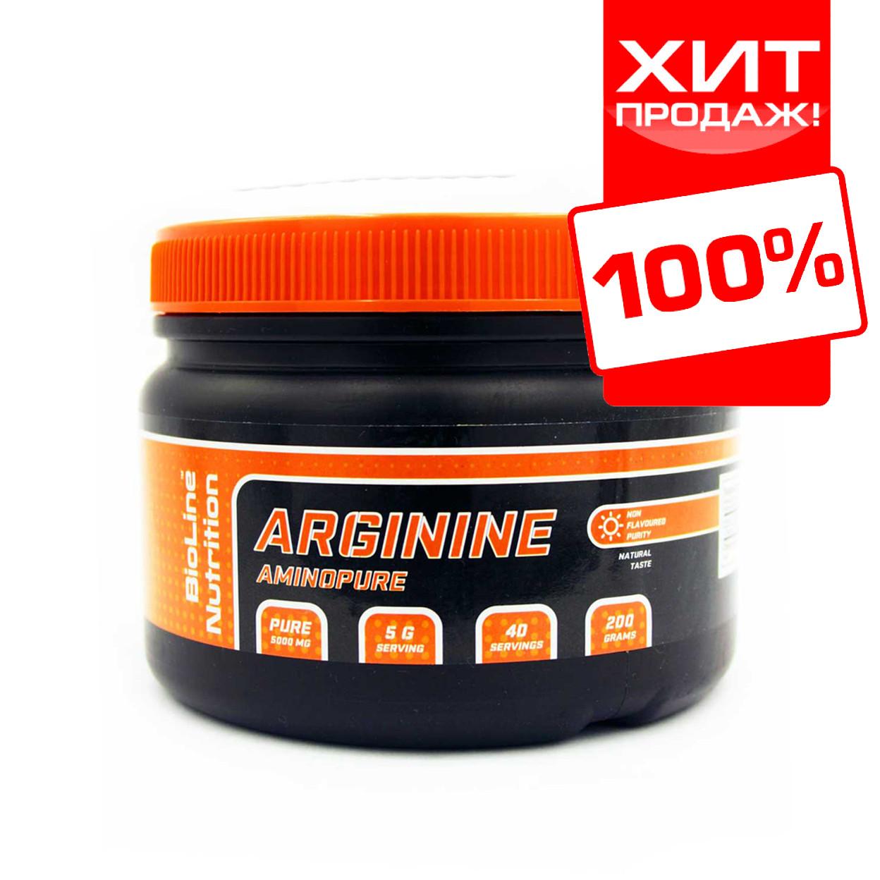 Аргінін - L-Arginine BioLine Nutrition (200 р.)