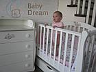 Кроватка с комодом-пеленатором Magic Design белый комплект, фото 2
