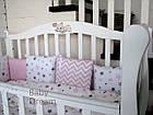 Кроватка с комодом-пеленатором Magic Design белый комплект, фото 3