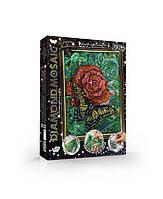 Алмазная живопись DIAMOND MOSAIC Бабочка на цветочке Dankotoys