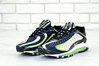 Мужские кроссовки Nike Air Max Deluxe Black White Green