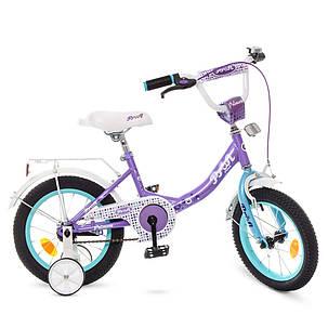 Велосипед детский PROF1 14 Д. Y1415 сиреневый, фото 2