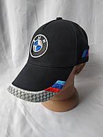 Мужская черная кепка-бейсболка с логотипом BMW