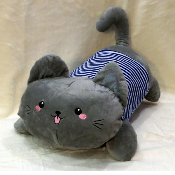 Детский плед игрушка Кот моряк