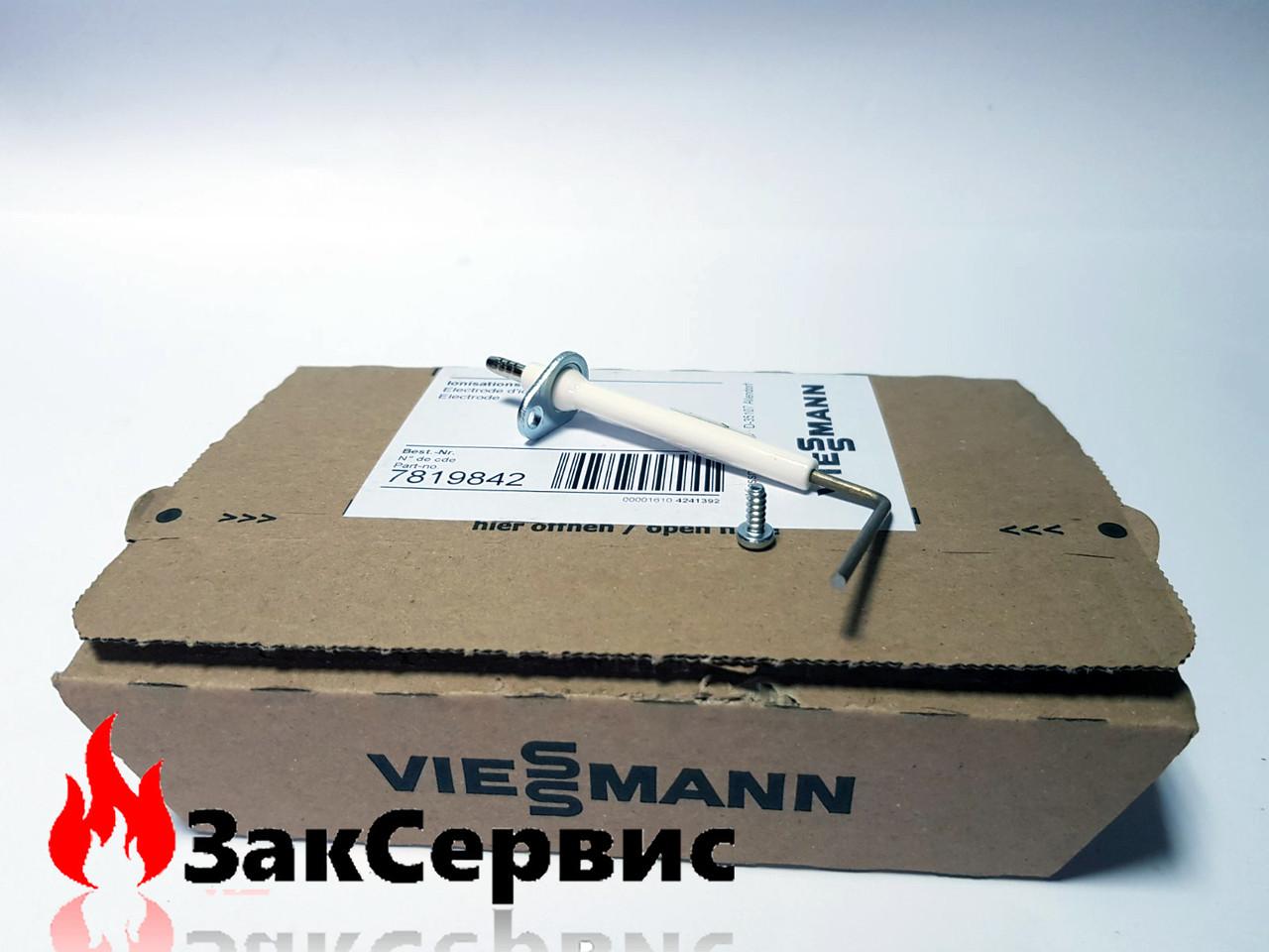Электрод розжига и ионизации на газовый котел Viessmann Vitopend WH0A, WHEА 7819842