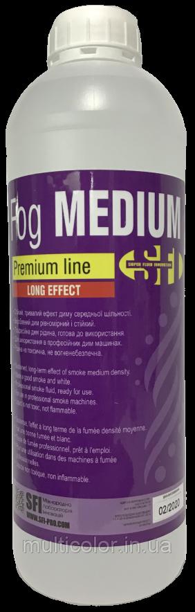 Жидкость для дыма Fog Medium Premium 1л