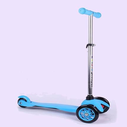 Самокат детский Scooter 034 | Синий, фото 2