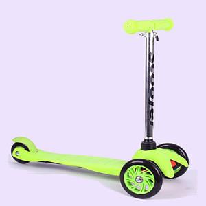 Самокат детский Scooter 034 | Зеленый