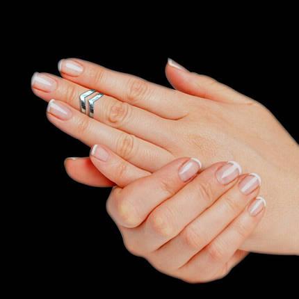 Срібне фаланговое кільце Стріла, мінімальний розмір 13, фото 2
