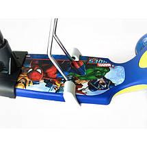 Самокат-беговел 5 в 1 Scooter Pro PH5 | Темно синий, фото 3