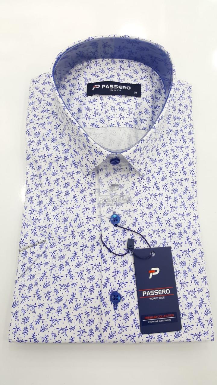 Сорочка короткий рукав Passero c принтом