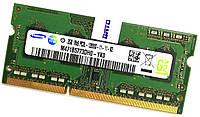 Оперативная память для ноутбука Samsung SODIMM DDR3L 2Gb 1600MHz 12800S CL11 (M471B5773DH0-YK0) Б/У, фото 1
