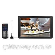 Автомобильный портативный телевизор PIONEER D12 дюймов с T2 (лучше OPERA)