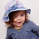 Панама для девочки ТМ Дембохаус от 9 до 18 месяцев, Елуизи, фото 3