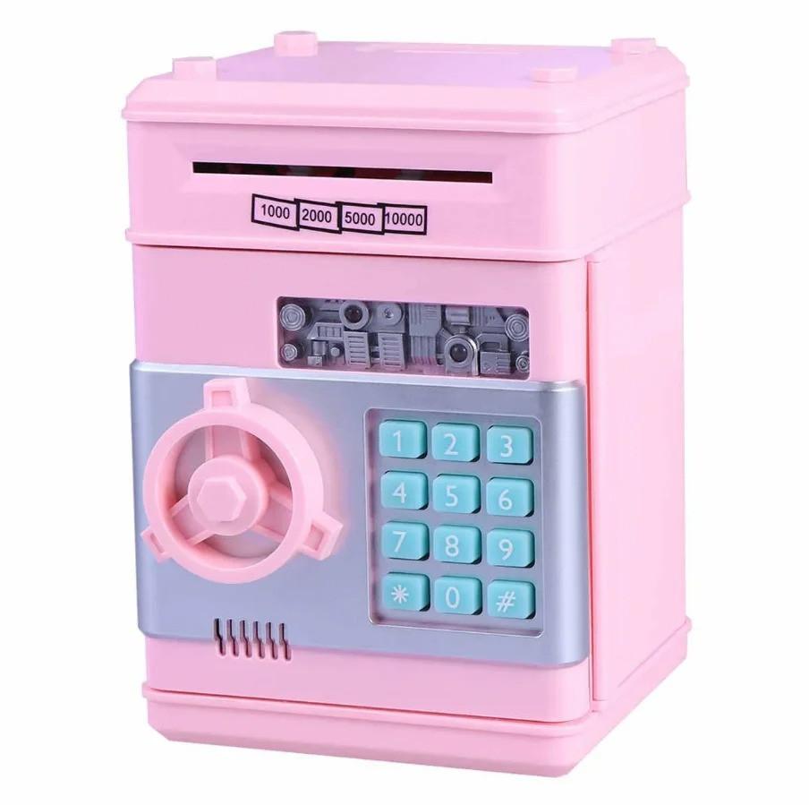 Детская электронная копилка сейф Банк, копилка для детей со звуковыми эффектами