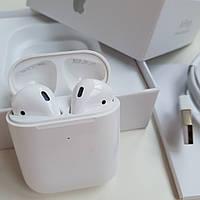 Беспроводные Bluetooth Наушники AirPods 2 Ipod для Apple, Samsung, Android