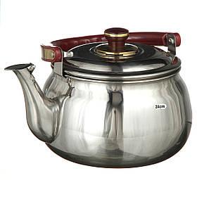 Чайник со свистком музыкальный A-PLUS на 4.0 л (9031)