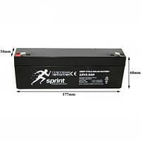 Аккумуляторная батарея 12v2.3AH - SPRINT источников бесперебойного питания ИБП, UPS