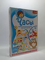 Развивающая игра для детей Часы Первые открытия. Trefl 01247
