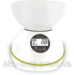 Весы кухонные электронные Mirta SK-3000 максимальный вес 5 кг