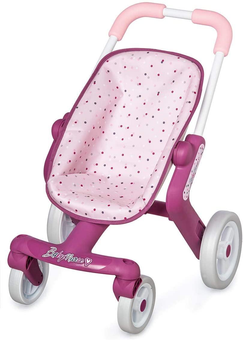 Коляска Smoby Toys Baby Nurse Прованс Прогулка с поворотными колесами 251203