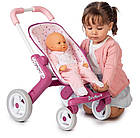 Коляска Smoby Toys Baby Nurse Прованс Прогулка с поворотными колесами 251203, фото 3