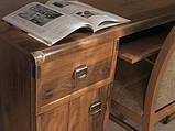 Стол письменный 2D2S 140 Индиана сосна каньйон/дуб шуттер, фото 2