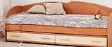 Кровать с выдвижными ящиками К-117 , фото 3