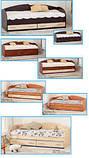 Кровать с выдвижными ящиками К-117 , фото 6