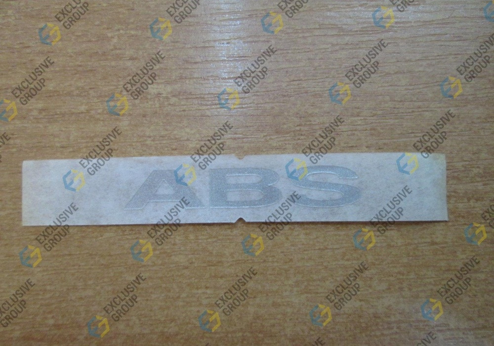 Надпись ABS (наклейка) Ланос GM 96324041