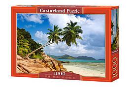 Пазлы 1000 элементов Castorland 103713 Тайный пляж