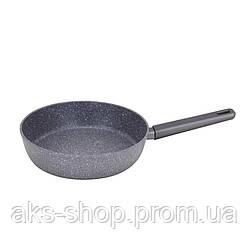 Сковорода антипригарная Maestro MR-1201-24 (покрытие Granite, Ø 24 см) | сковородка Маэстро, сотейник Маестро