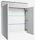 Зеркальный шкафчик в ванную Atmc-70 LED Allet ВанЛанд, фото 2