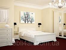 Кровать двуспальная Вайт 160 (каркас)