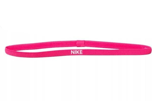 Спортивная повязка на голову Nike эластичная розовая