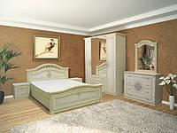 Спальня Диана (пино беж лак)