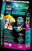 JBL ProPond All Seasons M 5.8 кг Всесезонный корм для средних кои и других прудовых рыб
