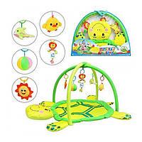 Коврик для младенца 898-12 B/0228-1 R в виде забавной черепахи