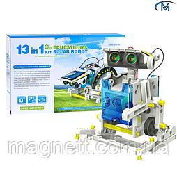 Конструктор робот на сонячних батареях Solar Robot 13 1