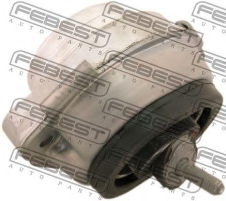 Подушка двигателя передняя (гидравлическая) FEBEST BMMX5