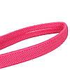 Спортивная повязка на голову Nike эластичная розовая - Фото