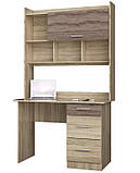Стол для ученика с ящиками Школьник-4, фото 3