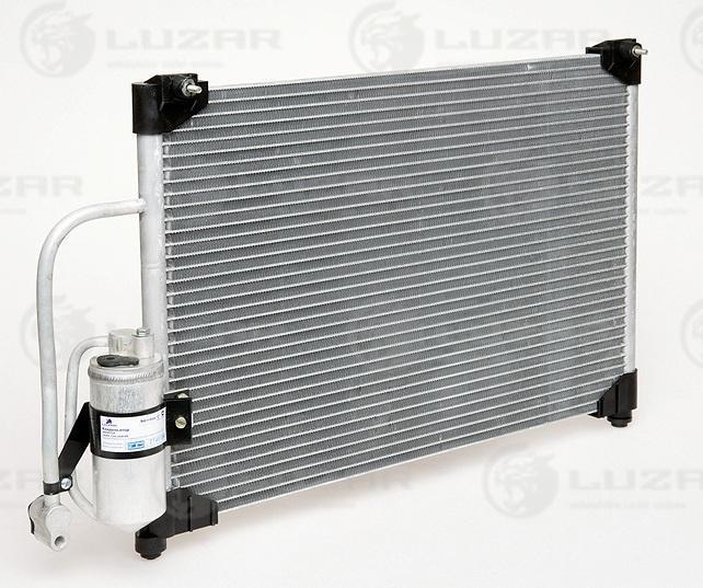 Радиатор кондиционера Ланос с ресивером Luzar 96296752 96303204