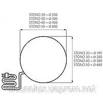 Светильник уличный STONO 20 N, E27, IP65, гранит, Kanlux 24654, фото 4