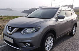 "Ветровики, дефлекторы окон Nissan X-Trail III (T32) 2014 ""VL-Tuning"""