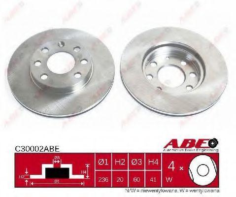 Диск гальмівний ABE C30002ABE