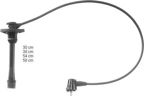 Комплект проводов зажигания SEIWA 50004